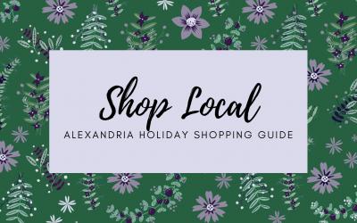 Shop Local – Alexandria Holiday Shopping Guide