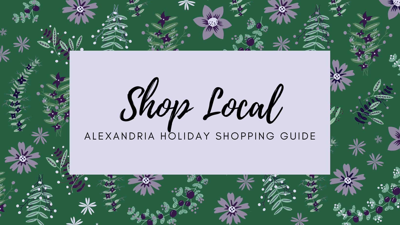 Shop Local - Alexandria Holiday Shopping Guide