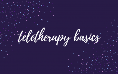 Teletherapy Basics