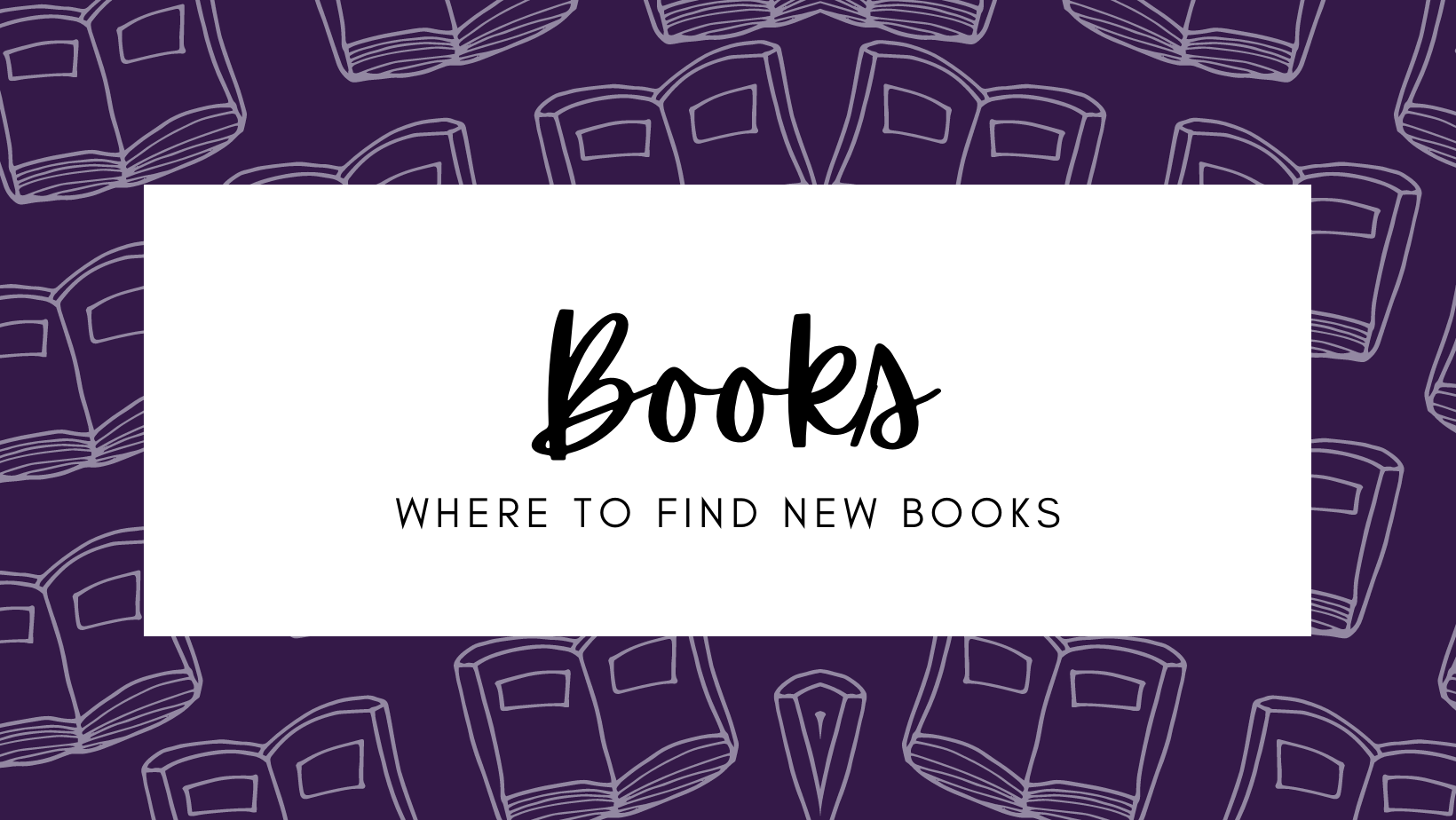 where to find books