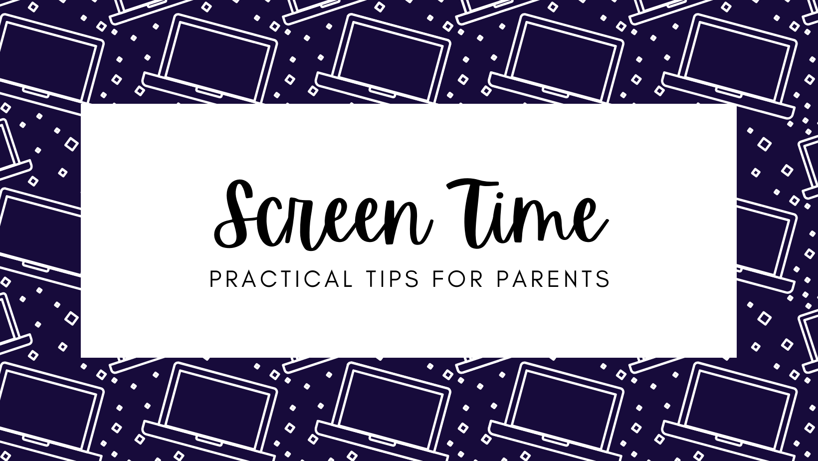 Screen Time Title Picture